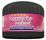 Supreme Eye Treatment Cream by DIVA Fit & Sexy - All-Natural Formula Made with Organic Aloe Gel to Remove Dark Circles, Reduce Puffiness, Ease Under Eye Bags, Repair Premature Aging Signs, Wrinkles, Crow's Feet and Improve Facial Lines - 100% Satisfaction Guaranteed!