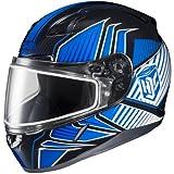 HJC Redline Mens CL-17 Snocross Snowmobile Helmet - MC-2 / 2X-Large