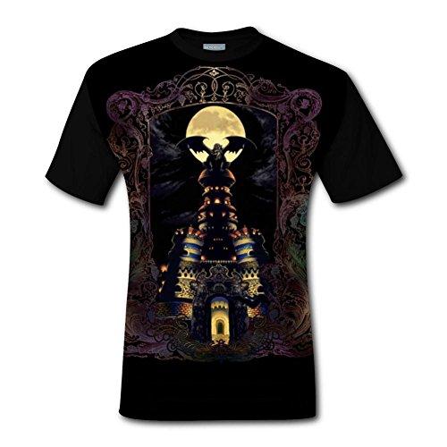 Magus Castle Men's Top T-Shirt Cool Short Sleeve Tee Shirts for Men XXL