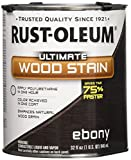 RUST-OLEUM 271108 Quart Ebony Interior Wood Stain