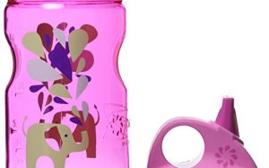 Nalgene Grip 'n Gulp Elephant Bottle, Pink