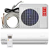 OLMO 9,000 BTU 115V Mini Split Heating and Cooling Air Conditioner System with 16' Installation kit