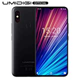 UMIDIGI F1 Play with 64GB Memory Android 9.0 48MP+8MP+16MP Cameras 5150mAh 6.3' FHD+ Global Version Smartphone Dual 4G LTE Cell Phone(Unlocked) - Black