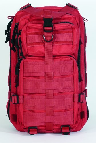 VooDoo Tactical 15-9588016000 Level III Assault Pack, Red