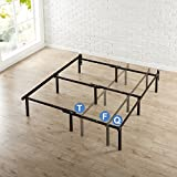 Product review for Zinus 12 Inch Compack Bed Frame, for Box Spring & Mattress Sets, Extra High so Bed Risers not needed, Fits Twin to Queen