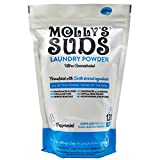 Molly's Suds Original Laundry Detergent Powder 120 load, Natural Laundry Soap for Sensitive Skin