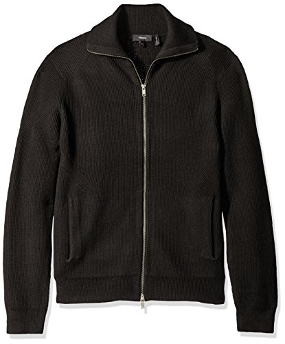 Zip front closure Side pockets Cardigan