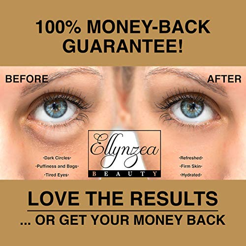(24 PAIRS) Rejuvenating Under Eye Mask for Puffy Eyes - Dark Circles Under Eye Bags Treatment - 24k Gold Anti-Aging Under Eye Patches - Under Eye Pads w/Hydrating Gel - Wrinkle Care for Women and Men 8
