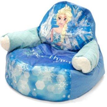 Frozen Elsa Character Figural Toddler Bean Chair