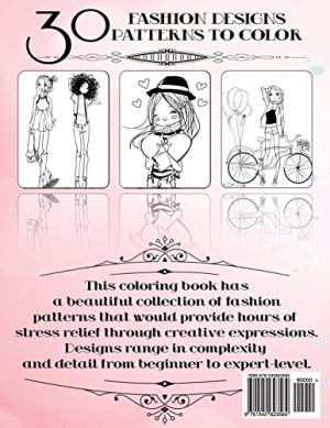 Fashion Coloring Book For Girls: Fun Fashion and Fresh Styles!: Coloring Book For Girls (Fashion & Other Fun Coloring Books For Adults, Teens, & Girls)