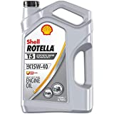Rotella T5 Synthetic Blend Diesel Engine Oil 15W-40, 1 Gallon - Pack of 1