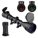 OTW Rifle Scope 3-9X56 Red&Green Mil-dot Illuminated Optics Optical Scope