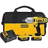 DEWALT 20V MAX XR Impact Wrench Kit, Brushless, High Torque, Detent Pin Anvil, 1/2-Inch (DCF889M2)