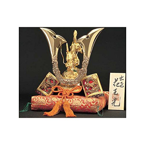 [Superior] Japanese Samurai Kabuto helmet - Tiger & Dragon - with cushion, box, tag - Japan import [Standard ship by EMS with Tracking number & Insurance]