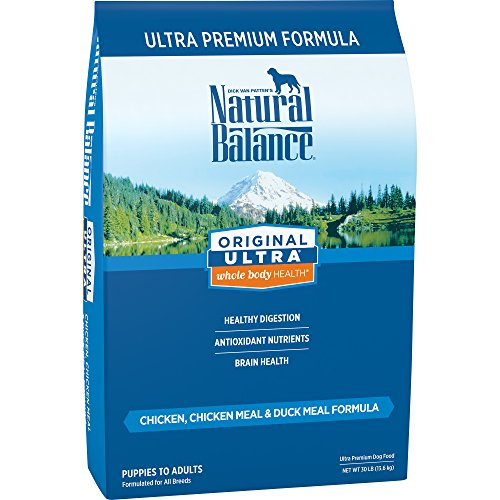 Natural Balance Original Ultra Chicken, Chicken Meal & Duck Meal Formula Dry Dog Food, 30 Pounds
