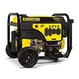 Champion Power Equipment 100538 7500-Watt Portable Generator, Black/Yellow