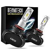 BEAMTECH 9005 LED Headlight Bulb, 50W 6500K 8000Lumens Extremely Brigh HB3 CSP Chips Conversion Kit