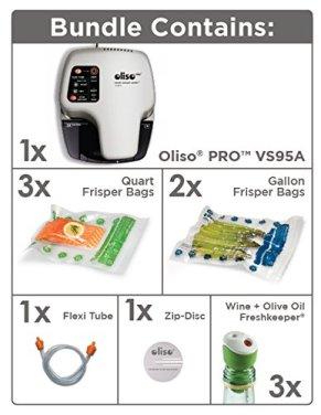 Oliso Vacuum Sealer Kit