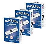 Set of 3 Boxes (60 total bandages) Home Run Brands New York Yankees Bandages