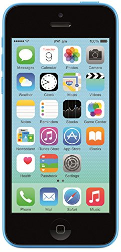 Apple iPhone 5c Factory Unlocked Cellphone, 8GB, Blue
