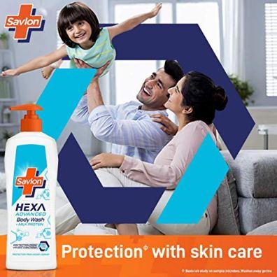 Savlon-Hexa-Advanced-Body-Wash-With-Milk-Protein-500-ml