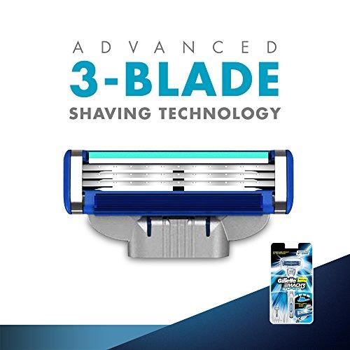 Gillette Mach 3 Turbo Manual Shaving Razor 25