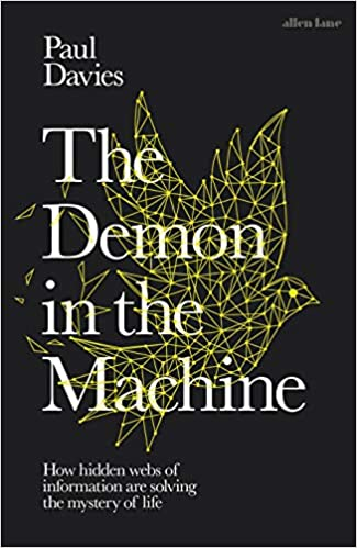 book cover of The Demon in the Machine by Paul Davies