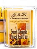 Sweet Georgia Peach Iced Tea - Pure Soy Wax Melts - Fruit Scents - 1 pack (6 cubes)