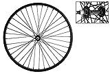WheelMaster Front Bicycle Wheel 26 x 1.75/2.125 36H, Steel, Bolt On, Black