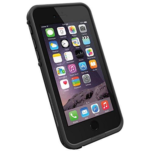 LifeProof FRĒ iPhone 6 ONLY Waterproof Case (4.7' Version) - Retail Packaging - Black/Black