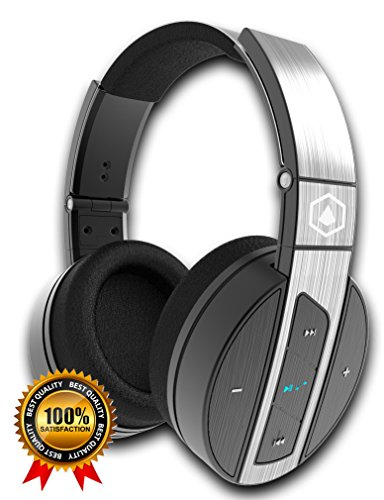 Amazon Deal, Top Sales, Special Today - 2019 Best Gifts - HiFi Elite Super 66 Wireless Bluetooth Headphones - Advanced Premium Sound & Bass, Noise Isolation, Mic for Phone Calls, Superior Comfort