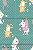 Password Book: Include Alphabetical Index With Hunging Meow Cats Pattern Cover