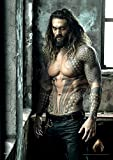 Justice League Movie Aquaman (Jason Momoa) MightyPrint Wall Art DC Comics Premium Print