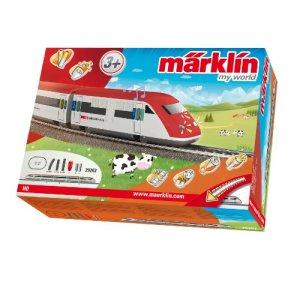 Marklin My World Swiss ICN Model Train Starter Set 51Hpif7t1sL
