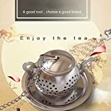 Euone  Filter teas Clearance Sale , Stainless Steel Loose Tea Infuser Leaf Strainer Filter Diffuser Herbal Spice