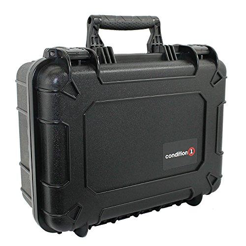 Condition 1 14″ Medium #075 Black Waterproof Hard Case with DIY Customizable Foam