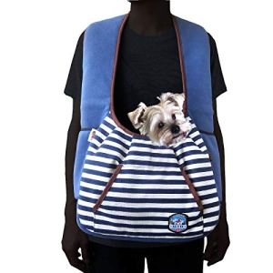 Alfie Pet – Amos Pet Front Sling Carrier – Color: Navy