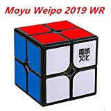 CuberSpeed Moyu Weipo wr 2019 New Version 2x2 Black Speed Cube 2x2x2 Weipo wr Speed Cube