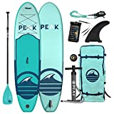 Peak All Around Inflatable Stand Up Paddle Board Package   10'6