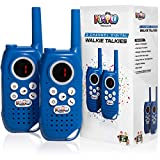 Playco Products Walkie Talkies for Kids - 2 Mile Range, Crystal Clear Sound, Flashlight, Belt Clip - Keep it Simple with Our Easy to Learn 3 Channel Design