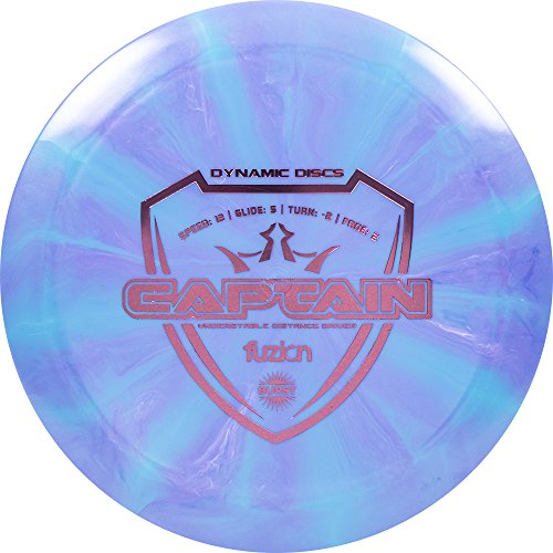 Dynamic Discs Fuzion Burst Captain Distance Driver Golf Disc [Colors May Vary] - 170-172g