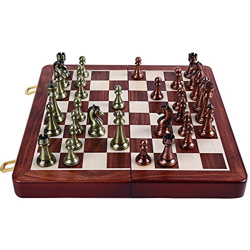 Agirlgle International Chess Set with Wooden Chess Board