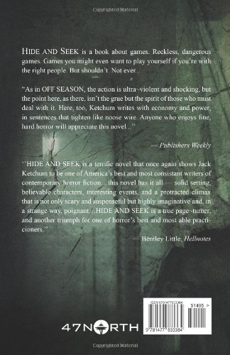 Hide And Seek Jack Ketchum 9781477833384 Amazoncom Books