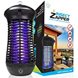 Livin' Well Bug Zapper - Mosquito Zapper, Insect Zapper Trap, Outdoor Bug Zapper Light w/ 4000V Electric Bug Zapper Grid and 18W UVA Mosquito Lamp
