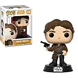 Funko Han Solo: Solo - A Star Wars Story x POP! Vinyl Figure + 1 Official Star Wars Trading Card Bundle [#238/26974]