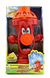 Kids Sprinkler Fire Hydrant, Attach Water Sprinkler for Kids to Garden Hose for Backyard Fun, Splash All Summer Long, Sprays Up to 8 Ft.(Red)