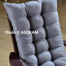 ASOKAM-BAZAARs-Premium-Microfibre-Soft-Home-Cotton-Cushion-Long-Chair-Pad-Cushion-for-IndoorOutdoor-Home-Office-Garden-Decor-Grey48-x-16-inchesSet-of-1