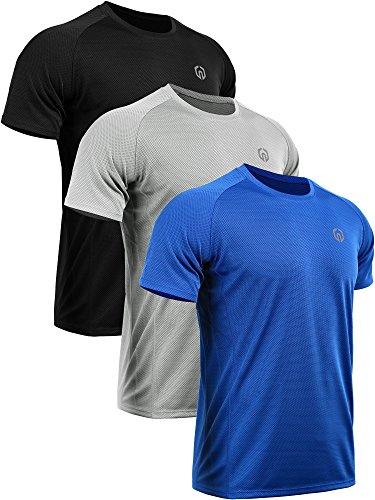 Neleus Men's Dry Fit Mesh Athletic Shirts 1 Fashion Online Shop 🆓 Gifts for her Gifts for him womens full figure