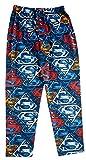 DC Comics Mens' Superman Color Logo Cotton Pajama Pants M