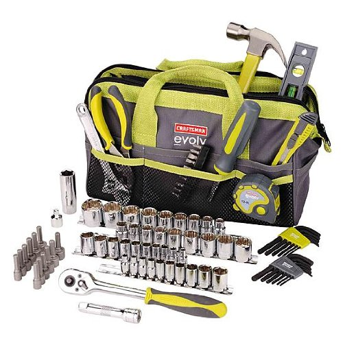 Craftsman Evolv 83 Pc. Homeowner Tool Set W/bag (41283)